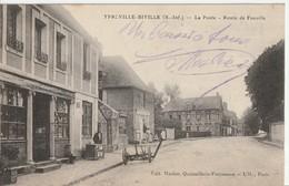 CPA Ypreville-Biville La Poste - France