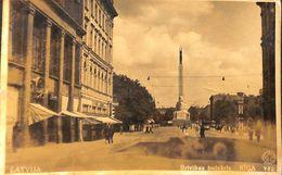 Riga - Brivibas Bulväris (animation, 1940) - Lettonie