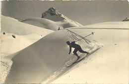 Ref W844- Sports D Hiver - Ski - Skieurs - Skieur - Carte Bon Etat - - Sports D'hiver