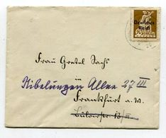 Deutsches Reich / 1920 / Mi. 124 EF A. Bf., Nachsendung (03608) - Lettres & Documents