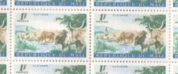Mali MNH Sheet Of 1961 1F Agriculture Series Stamps - Mali (1959-...)