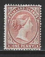 Falkland SG 23, Mi 9d * MH - Falkland Islands