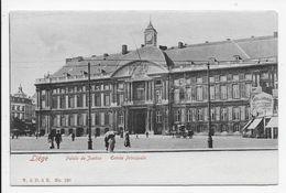 Liege - Palais De Justice - Entree Principale - Dos Simple - Liege