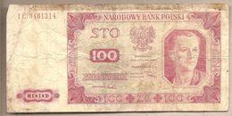 Polonia - Banconota Circolata Da 100 Zloty P-139a.4 - 1948 - Polonia