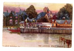TUCK'S POST CARD  PICTORESQUE LAKE DISTRICT 1906 - Tuck, Raphael