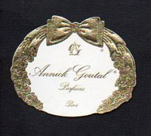 "Carte Parfumée / Parfum / "" Annick Goutal "" - Perfume Cards"