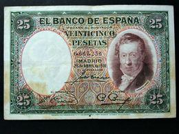 España . Spain . 25 Pesetas 1931 . Republica - [ 2] 1931-1936 : Republic