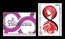 Greece 2018 Mih. 2985/86 International Women's Day MNH ** - Greece