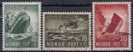 NORUEGA 1944 Nº 257/59 USADO - Noruega