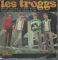 "45 Tours EP - LES TROGGS   -  FONTANA 460974 -   "" WILD THING "" + 3 - Vinyl Records"