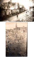 2 Photos En Bon état De Lisieux 14-09-1946 - Photography