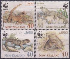 NUEVA ZELANDA 1991 Nº 1104/07 USADO - Used Stamps