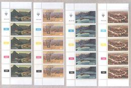 South West Africa 1981 Blocks Of MNH Landscapes Stamps - Stamps