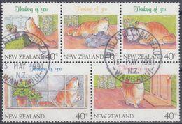 NUEVA ZELANDA 1991 Nº 1115/19 USADO - Usados