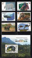 Cuba 2017 C17-39 Endangered Fauna. Fauna MNH - Cuba