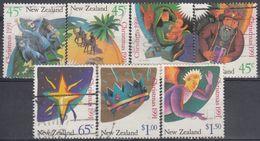 NUEVA ZELANDA 1991 Nº 1145/51 USAD0 - Usados