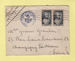 Port D Antibes - 13-8-1950 - Croix Rouge - 1921-1960: Periodo Moderno