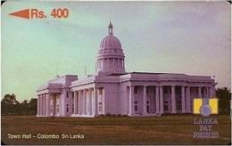 SRILANKA : 10A Rs400 Town Hall - Colombo USED - Sri Lanka (Ceylon)