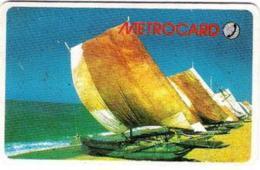 SRIMETRO : MET001 150 Catamarans (black Reverse) USED - Sri Lanka (Ceylon)