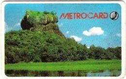 SRIMETRO : MET006 150 Sigiriya Rock (with Moreno Logo) USED - Sri Lanka (Ceylon)