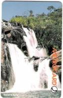 SRIMETRO : MET011 150 Baker's Falls  Waterfall USED - Sri Lanka (Ceylon)