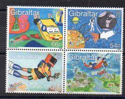 GIBRALTAR  Timbres Neufs ** De 2000  ( Ref 5150 )  Dessin -  Enfance - Gibraltar