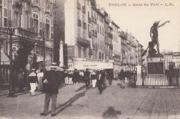 TOULON - Quai Du Port, 192? - France