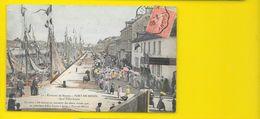 PORT En BESSIN Rare Colorisée Quai Félix Faure () Calvados (14) - Port-en-Bessin-Huppain