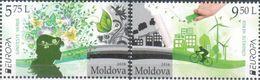 MD 2016-948-9 EUROPA CEPT, MOLDAVIA, 1 X 2v, MNH - Europa-CEPT