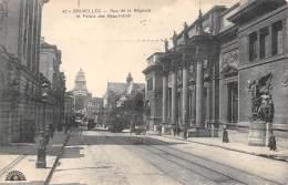 BRUXELLES - Rue De La Régence Et Palais Des Beaux-Arts - Lanen, Boulevards