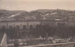 RPPC PLAZA CONSTITUCION Y PANORAMA  QUERETARO MEXICO - México