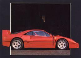 Ferrari F-40  -  1988   -   CPM - Turismo