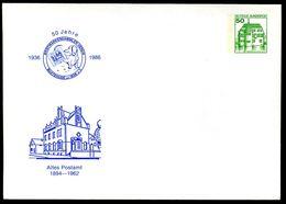 Bund PU113 C2/003 Privat-Umschlag ALTES POSTAMT BUXTEHUDE 1986  NGK 5,00 € - Post