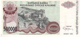 Croatia R23 500000 Dinars 1993 - Croatia