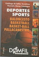 Basketball - DOMFIL Catalogue, 1.edition, In Color, 132 Pages, Spanish And Ennglish - Thema's