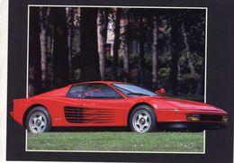 Ferrari Testarossa  -  1984   -   CPM - Turismo