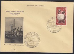 BERLIN 217, FDC,  Deutsche Funk-Ausstellung 1961 - Berlin (West)