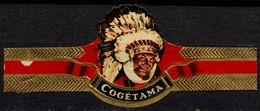 Netherlands / Cogétama / Indian - CIGAR Label Vignette - Etiquettes
