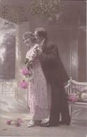 AK Paar Mit Blumen - Bonne Année - 1913 (33691) - Paare