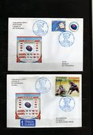 89-SLOVAKIA 2011-WORLD CHAMPIONSHIPS ICE HOCKEY -BRATISLAVA/KOŠICE 2011-2xCOVER - Hockey (Ice)