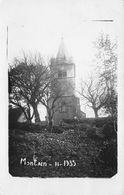39 - Montain - Carte Photo - L'Eglise - Frankrijk