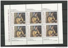 1985 MNH Portugal, Azulejos 17, Postfris - Blocs-feuillets