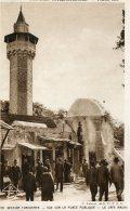 FRANCE -EXposition Coloniale Internationale - Paris 1931 - Section Tunisienne Vue Sur La Place Publique - Exposiciones