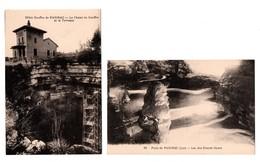 46 - PADIRAC . 2 CARTES POSTALES - Réf. N°18177 - - Padirac