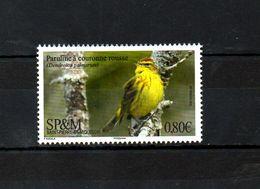 SPM, 2018,  BIRD, 1v.MNH** - Oiseaux