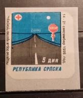 Bosnia And Herzegovina, Republic Of Srpska, 1999, Anti-tuberculosis Surcharge, MNH - Bosnia And Herzegovina