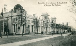 BELGIUM - Gand - 1913 - Exposition Internationale De Gand - L'Avenue Des Nations - Exposiciones