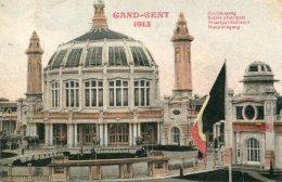 BELGIUM - Gand (Gent) - 1913 - Exposition Internationale  - Entree Principale -  VG Stamps And Postmark - Tentoonstellingen