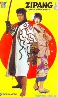 Télécarte Japon / 110-011 - CINEMA -  ZIPANG (4206)  * Japan FILM Movie Phonecard - Kino TK - Cinéma