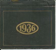 CALENDRIER  DU LABORATOIRE   UROMIL DE 1936 - Calendars